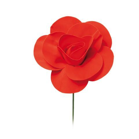 Imagem de Flor Decorativa P/Painel Vermelho 15Cm Dec. Festas