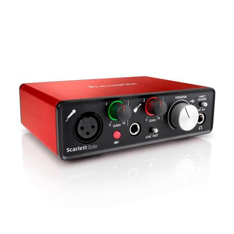 Imagem de Focusrite Scarlett Solo  Interface de Audio