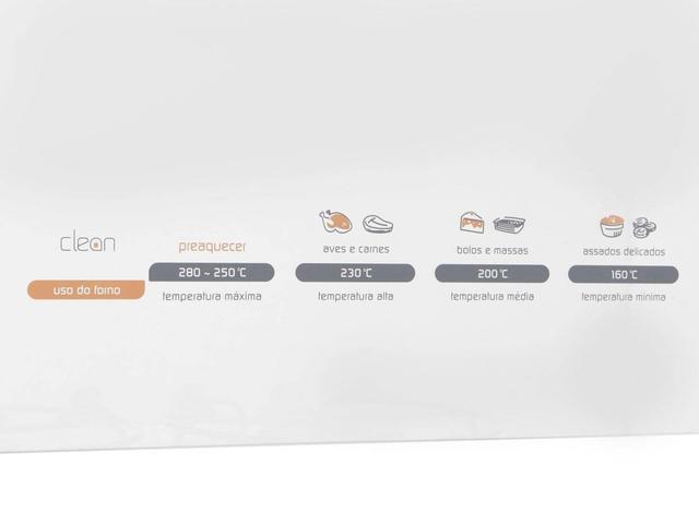 Imagem de Fogão 4 Bocas Brastemp Clean BFO4TAR Inox Timer - Acendimento Automático