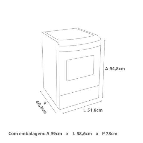 Imagem de Fogão 4 Bocas Consul CFO4 VAR Inox Acendimento Automático