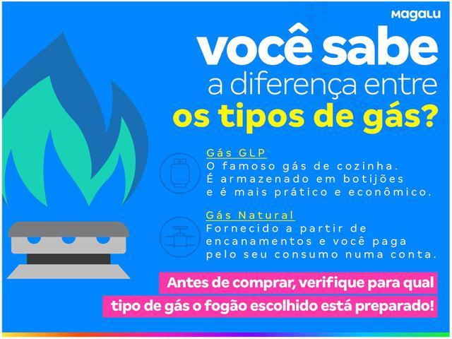 Imagem de Fogão 4 Bocas Electrolux Preto