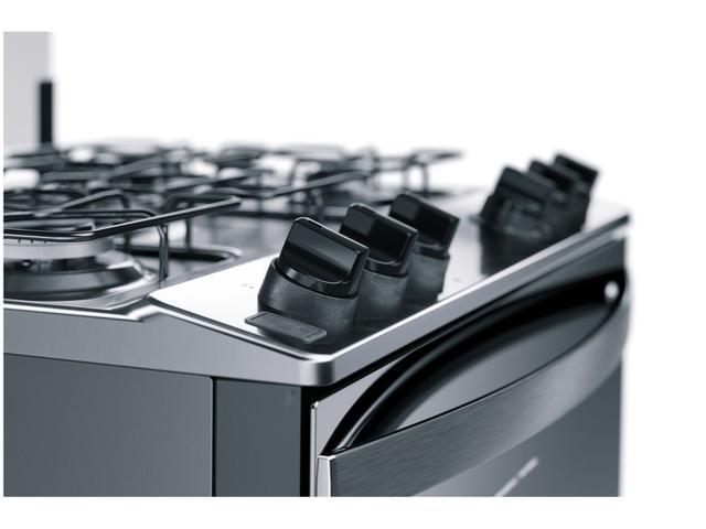 Imagem de Fogão 5 Bocas Brastemp Inox Acendimento Automático
