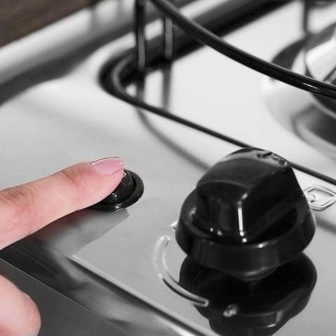Imagem de Fogão 5 Bocas Electrolux Automático com Ultra Chama e Painel Completo 76LBU