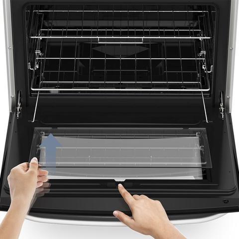Imagem de Fogão 5 Bocas Electrolux Prata Automático com Tripla Chama e Forno Easy to Clean (76USQ)