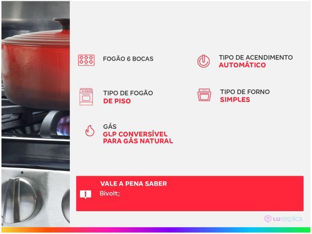 Imagem de Fogão 6 Bocas Consul CFS6 NAB