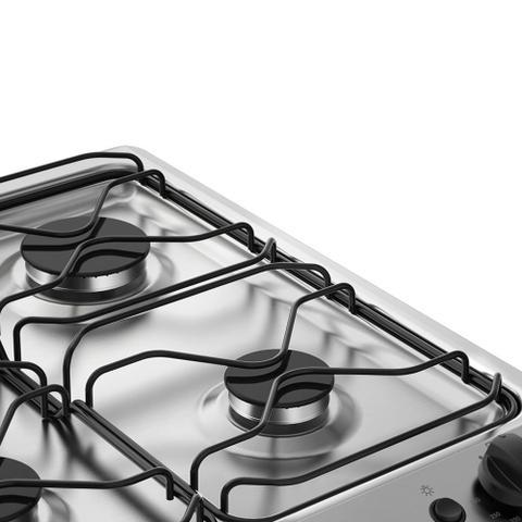 Imagem de Fogão 6 Bocas Electrolux Branco Automático com Porta Full Glass e Vidro Interno Removível (76UB6)