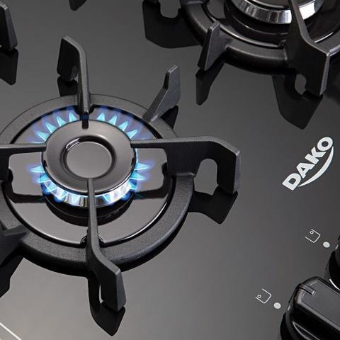 Imagem de Fogão a Gás Atlas Agile Up Glass Piso 4 Bocas Inox Bivolt 300000886