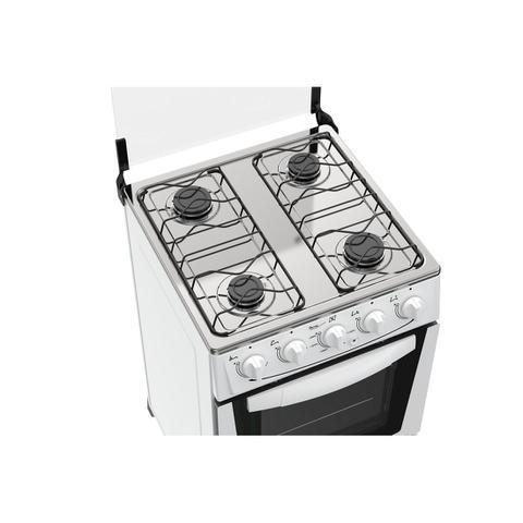 Imagem de Fogão Atlas 4 bocas branco com acendimento automático - Mônaco com forno de 50L - Bivolt