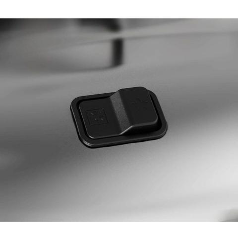 Imagem de Fogão Brastemp 4 bocas cor Inox com acendimento automático e botões removíveis