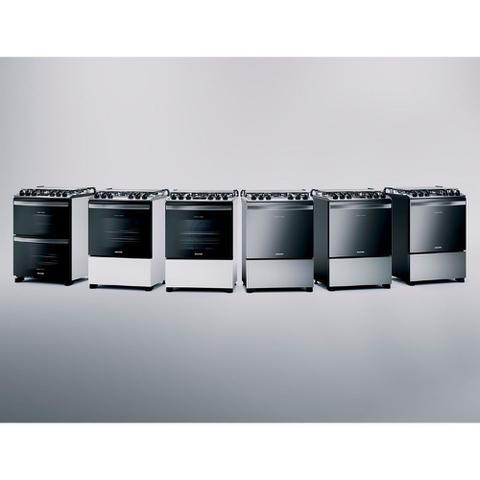 Imagem de Fogão Brastemp 5 Bocas Branco Com Turbo Chama E Touch Timer - BFS5PCB