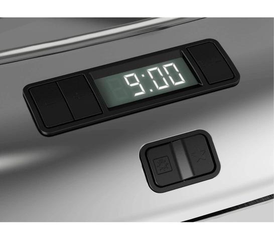 Imagem de Fogão Brastemp 5 bocas cor Inox com timer digital e mesa flat top