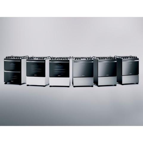 Imagem de Fogão Brastemp 5 Bocas Cor Inox Com Turbo Chama E Touch Timer - BFS5PCR