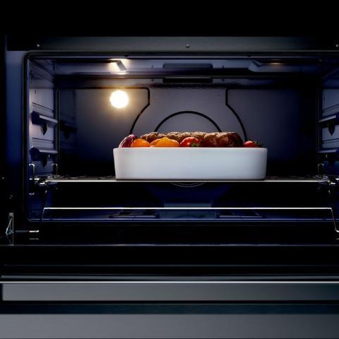 Imagem de Fogão Brastemp 5 Bocas De Embutir Cor Inox Com Mesa De Vidro E Touch Timer Com Autodesligamento - BYS5VCR