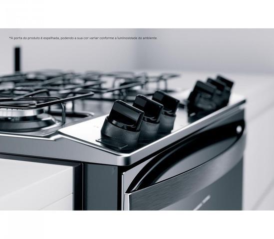 Imagem de Fogão Brastemp de Embutir Inox 5 Queimadores Bivolt BYS5PCRUNA