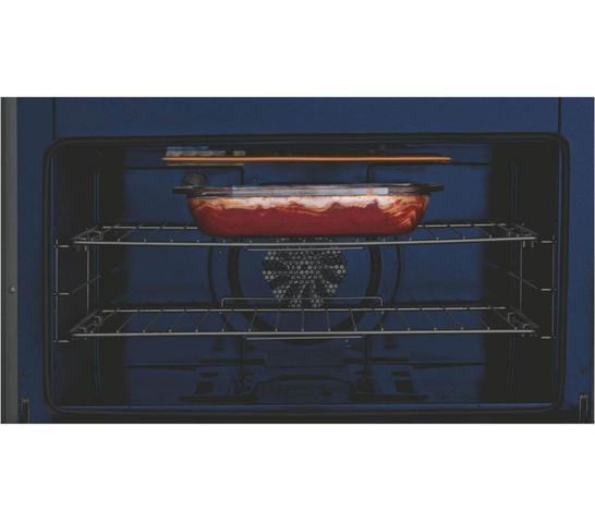 Imagem de Fogão Brastemp Gourmand 5 bocas embutir cor Inox com quadrichama e função vapor