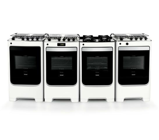 Imagem de Fogão Consul 4 bocas Branco com acendimento automático