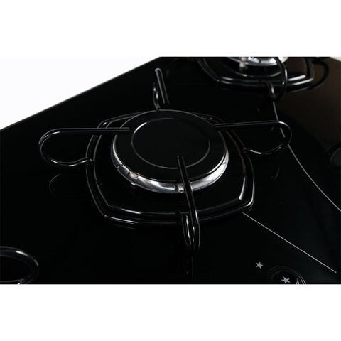 Imagem de Fogão Cooktop 5 Bocas Acendimento Automático Easy Clean Braslar