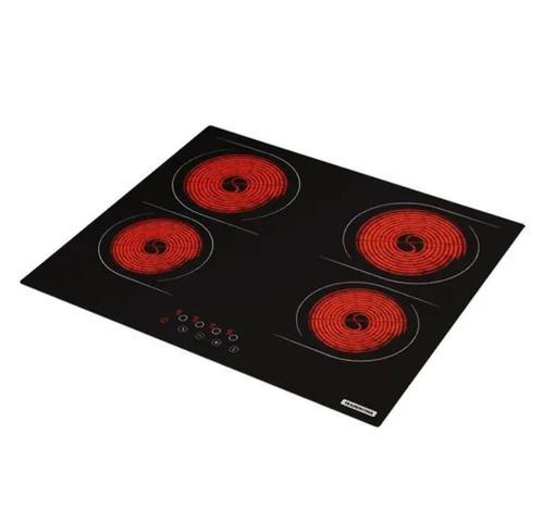 Imagem de Fogão cooktop elétrica Tramontina New Square Touch 4EV 220V