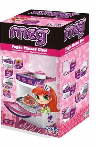 445454c3ce5b2 Fogão De Brinquedo Cozinha Master Chef Meg Magic Toys - Cozinha ...
