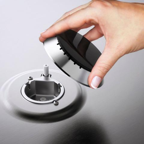 Imagem de Fogão de Embutir 5 Bocas Grill e Timer Digital Electrolux (76EBR)