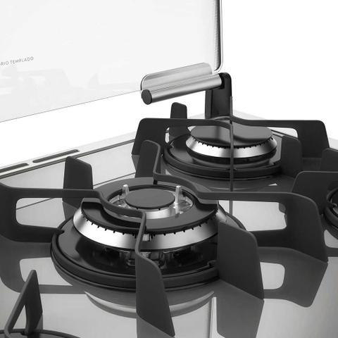 Imagem de Fogão de Embutir 5 Bocas Mesa de Vidro e Timer Digital Electrolux (76EXV)