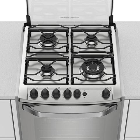 Imagem de Fogão de Embutir 56EAX a Gás 4 Queimadores Prata Electrolux Bivolt 23048EBA088P1
