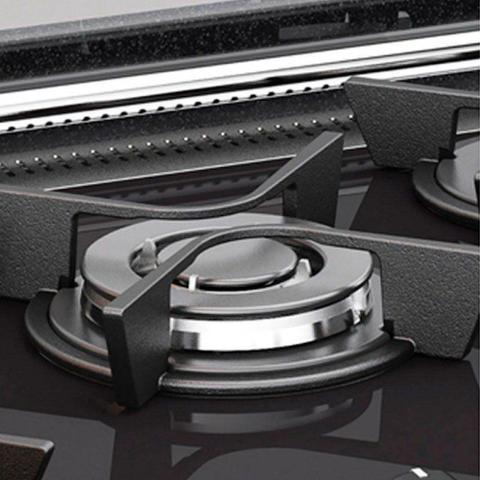 Imagem de Fogão de Embutir Atlas 5 Bocas Top Gourmet Glass Acendimento Super Automático