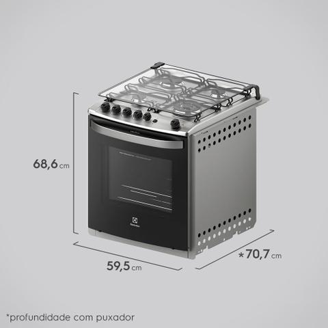 Imagem de Fogão de Embutir com Grill Elétrico Electrolux (56EBT)