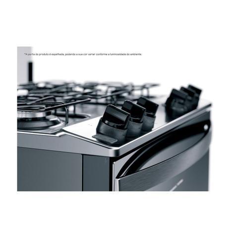 Imagem de Fogão de Piso Brastemp 5 Bocas Turbo Chama Acendimento automático BFS5ECR