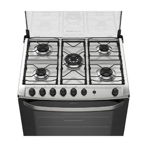 Imagem de Fogão de Piso Electrolux 5 bocas Queimador Tripla-Chama Silver (76USQ)