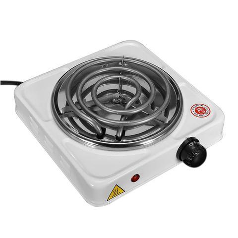 Imagem de Fogão Elétrico Portátil Espiral 1 Boca, 110 Volts, Branco, 1000 Watts - FIX