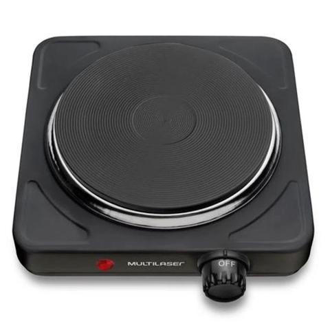 Imagem de Fogão Elétrico Portátil Multilaser Easy Cook 1 Boca 6 Níveis de Temperatura 1000W 110V - CE152