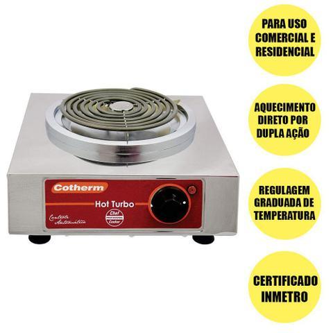 Imagem de Fogão Eletrico Profissional Hot Turbo 1 Boca Cotherm