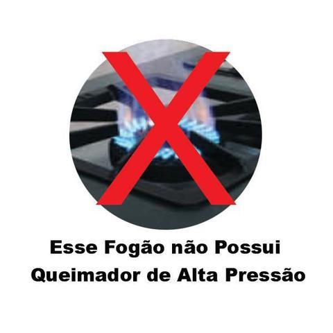 Imagem de Fogao Industrial 2 Bocas Baixa Pressão Sem Forno Economy