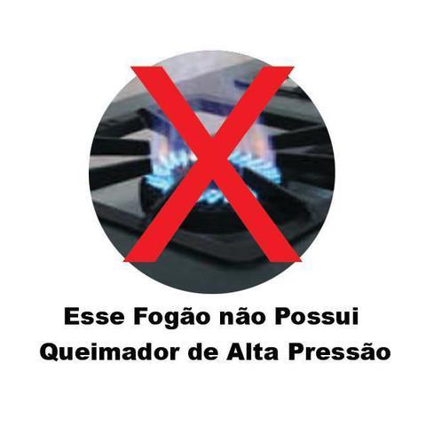 Imagem de Fogão Industrial 4 Bocas 30x30 Perfil 5 Com Forno Tampa Inox - Gastromixx