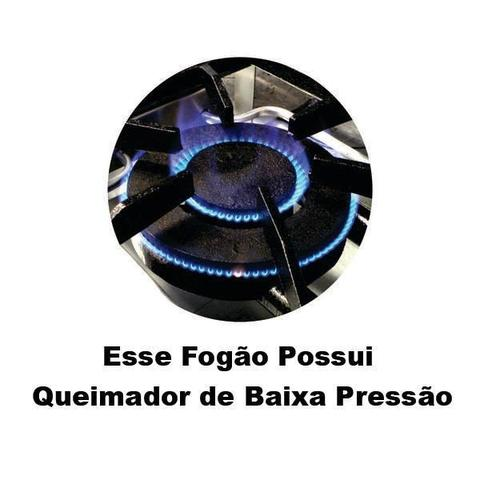 Imagem de Fogão Industrial com Forno e Chapa 6 Bocas - Cristalaço