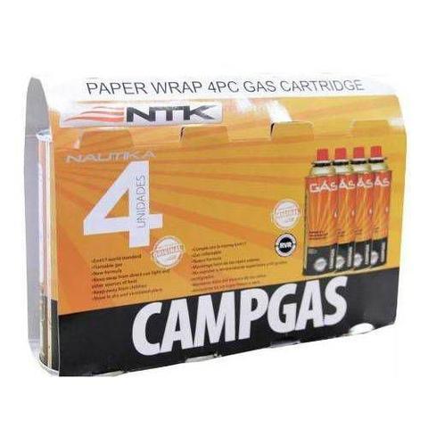 Imagem de Fogareiro Duo Ceramik + 4 Cartuchos Gás Campgás 227g Nautika