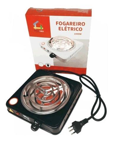 Imagem de Fogareiro Elétrico Portátil 1 Boca 110v Cor Preto