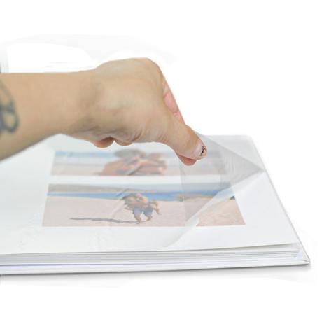 Imagem de Folhas Paspatur Autocolante Refil p/ Álbum 23x28 - 10 Folhas