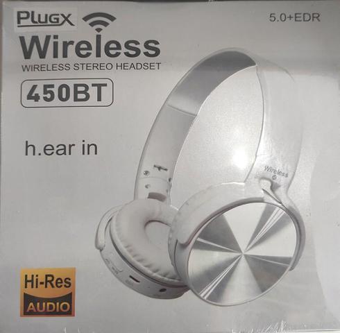 Fone de Ouvido Plug-x 450bt