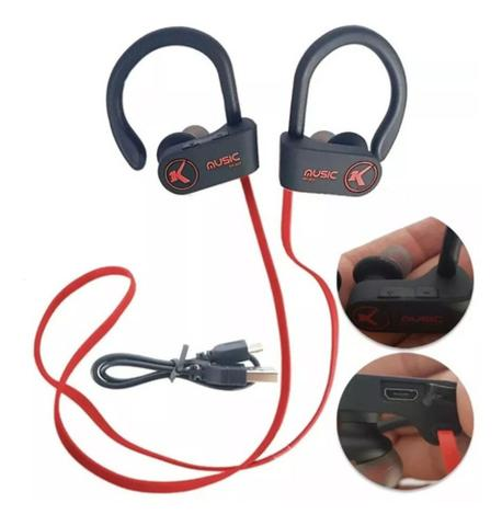 Fone de Ouvido Microfone Bluetooth Knup Kp443