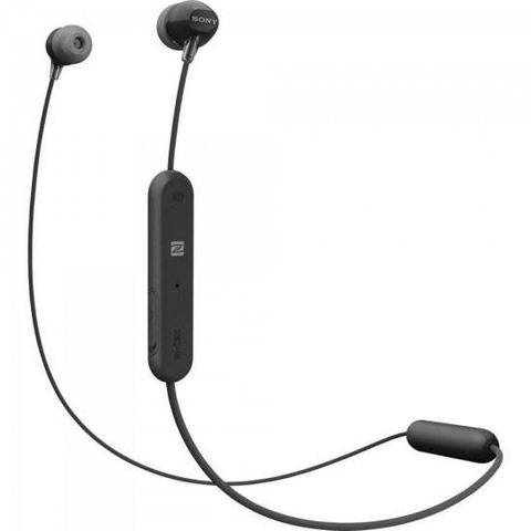 Imagem de Fone Bluetooth WI-C300B Preto SONY