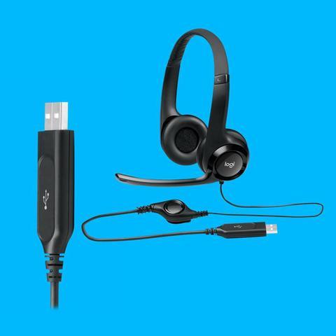 Imagem de Fone c/ Microfone USB H390