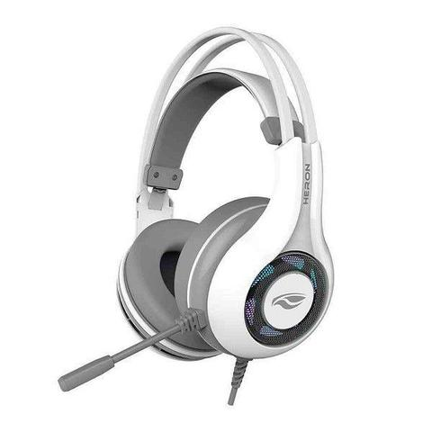 Fone de Ouvido Headset Gamer Usb 7.1 Heron Branco C3 Tech Ph-g701whv2