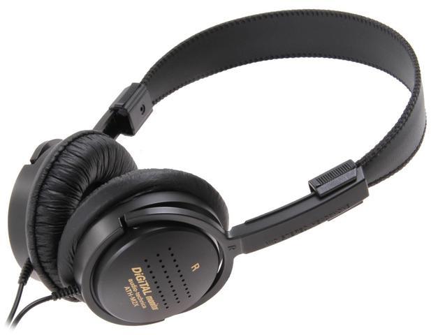 Fone de Ouvido Headphone Ac0999 Preto Audio Technica Ath-m2x