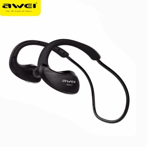 Fone de Ouvido Esportivo Bluetooth Nfc Intra Auricular Awei A885bl