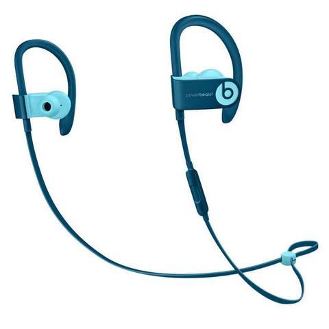 Fone de Ouvido Earphone Powerbeats3 Wireless Azul Beats Mnlx2be/a