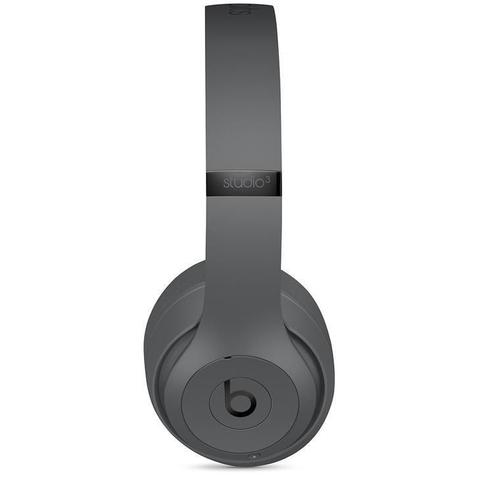 Imagem de Fone de Ouvido Beats Studio 3, Bluetooth, Over Ear, Cinza