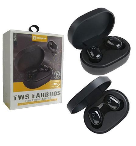 Imagem de Fone De Ouvido Bluetooth 5.0 Sem Fio Tws Earbuds modelo Sly-18 marca Sumexr