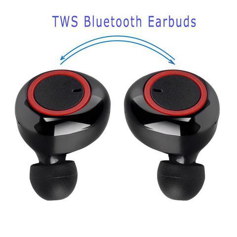 Imagem de Fone de Ouvido Bluetooth com Case Carregador